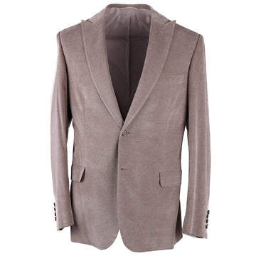 Brioni Cotton-Cashmere Suit with Peak Lapels