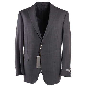 Canali 'Impeccable' Gray Check Wool Suit