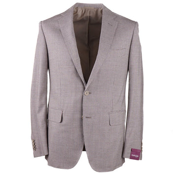 Sartoria Partenopea Slim-Fit Houndstooth Suit - Top Shelf Apparel