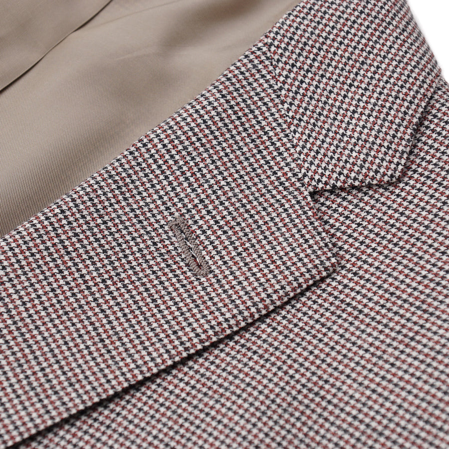 Sartoria Partenopea Slim-Fit Houndstooth Suit