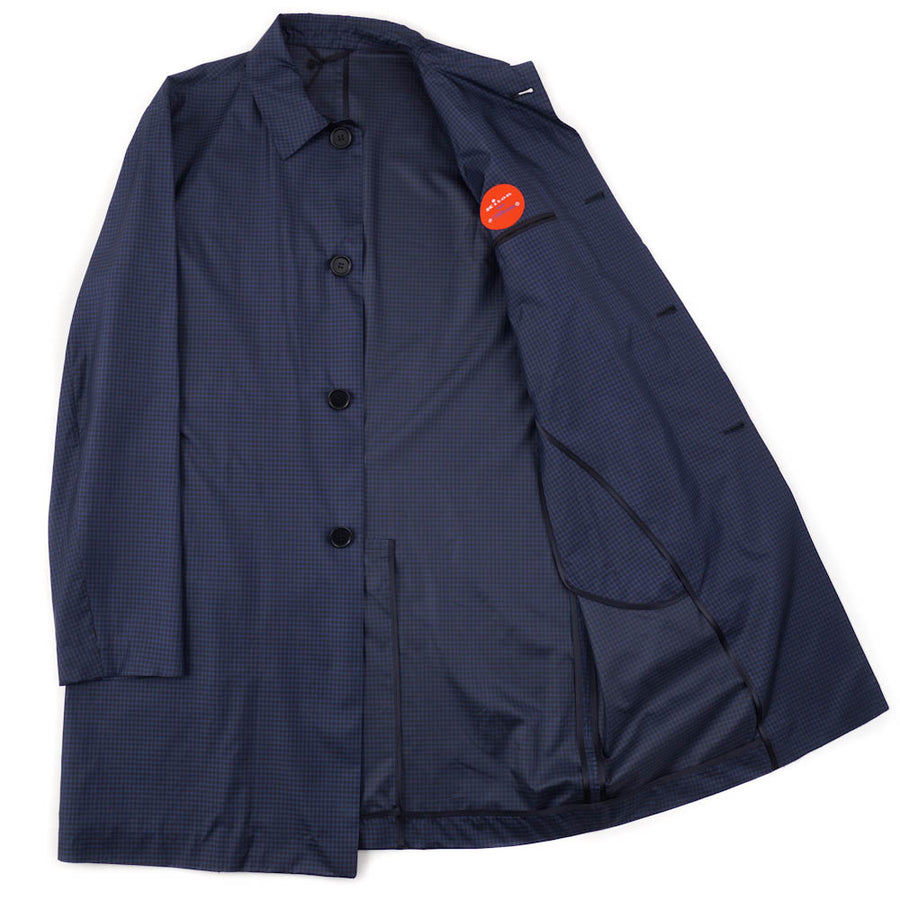 Kiton Lightweight Silk Mackintosh Coat