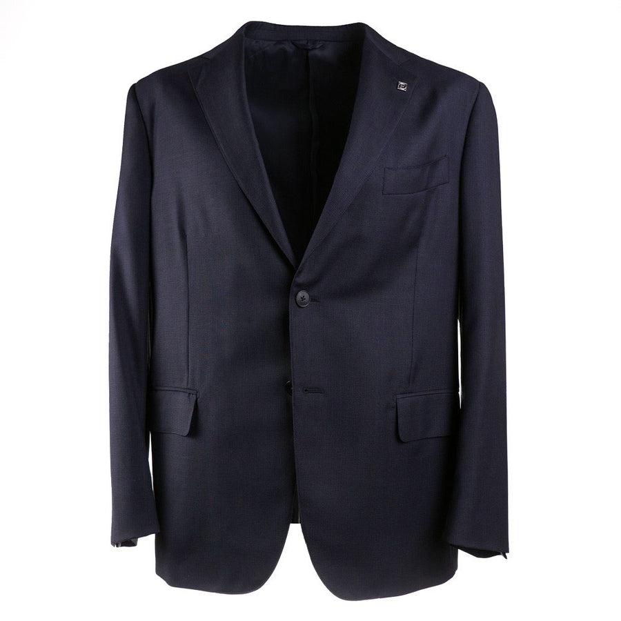 Eidos Slim-Fit Houndstooth Wool Suit