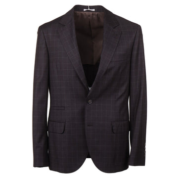 Brunello Cucinelli Soft Brushed Wool Suit
