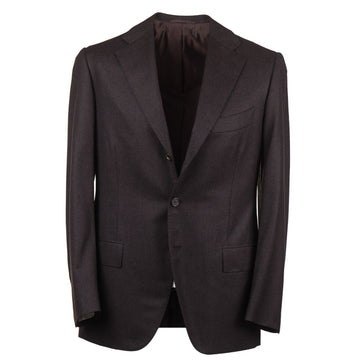 Cesare Attolini Slim-Fit Houndstooth Wool Suit