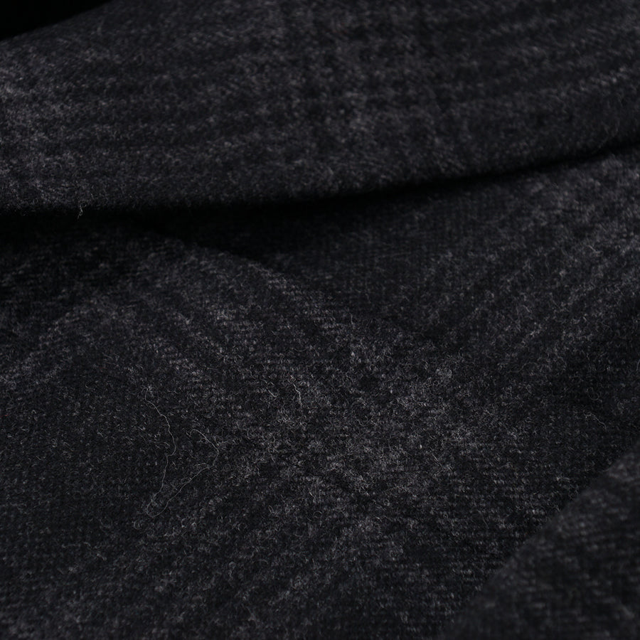Isaia Black and Gray Check Wool-Cashmere Sport Coat