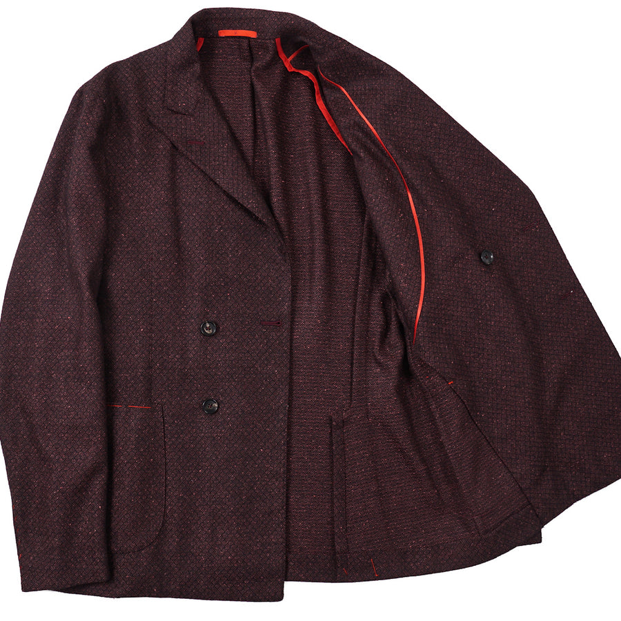 Isaia Lightweight Wool and Silk Sport Coat