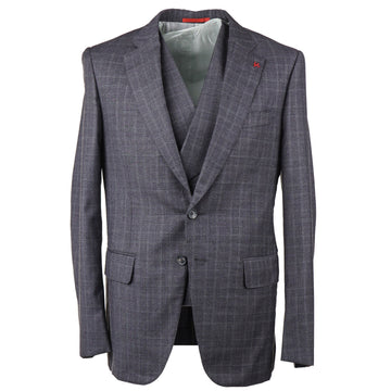 Isaia Modern-Fit Three-Piece Wool Suit - Top Shelf Apparel