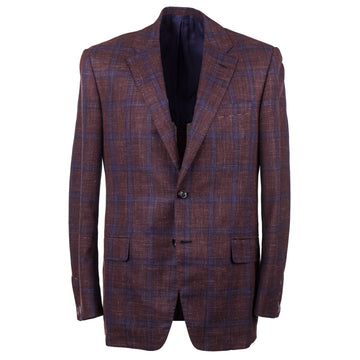 Oxxford Modern Fit Wool-Silk-Linen Sport Coat