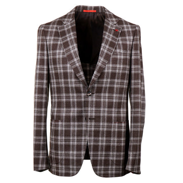 Isaia Slim-Fit Soft Flannel Wool Suit