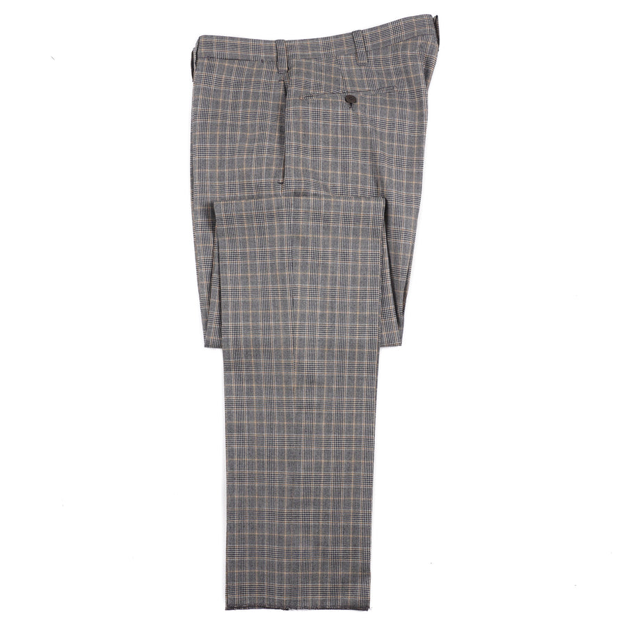 Cesare Attolini Layered Check Soft Wool Suit - Top Shelf Apparel