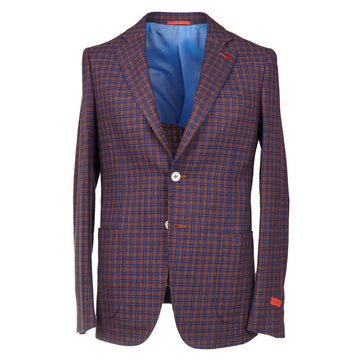 Isaia Slim Fit Wool-Silk-Linen Sport Coat