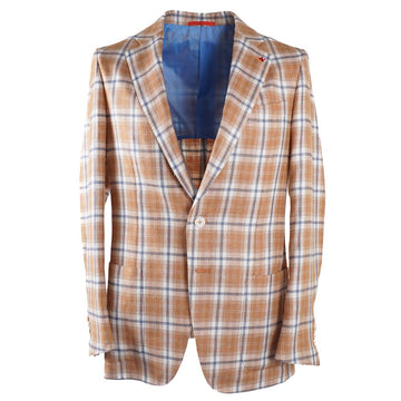 Isaia Silk-Linen-Wool Sport Coat