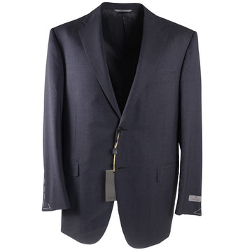 Canali Gray-Blue Stripe Wool Suit