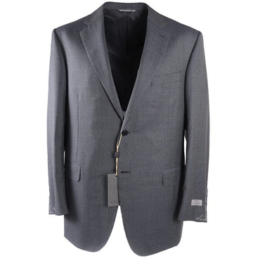 Canali Mini Houndstooth Wool Suit
