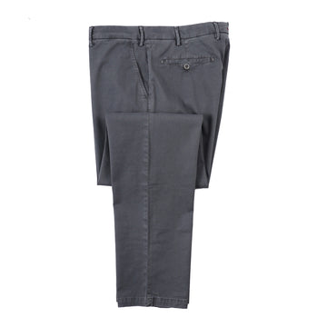 Isaia Regular-Fit Stretch Cotton Pants