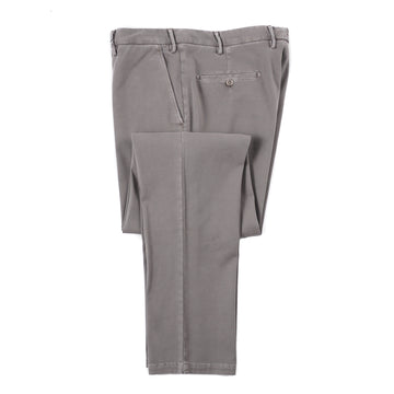 Isaia Stretch Twill Cotton Pants