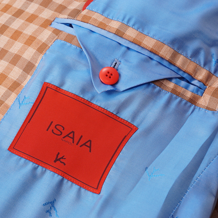 Isaia Wool and Cotton Sport Coat