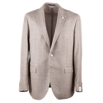 Luigi Bianchi Unstructured Wool-Silk Linen Sport Coat