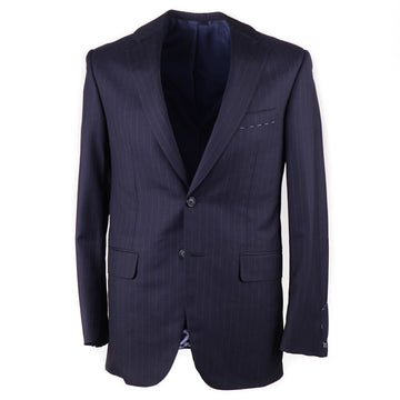 Oxxford Navy Stripe Super 150s Wool Suit