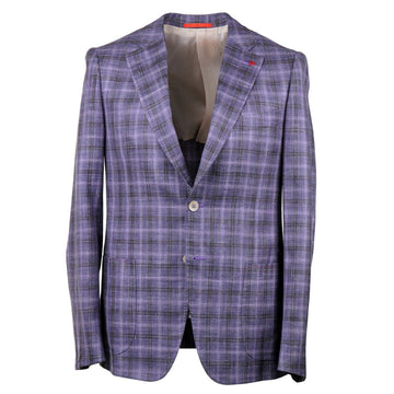 Isaia Slim-Fit Wool-Silk-Linen Sport Coat