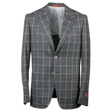 Isaia Slim-Fit Super 140s Wool Suit