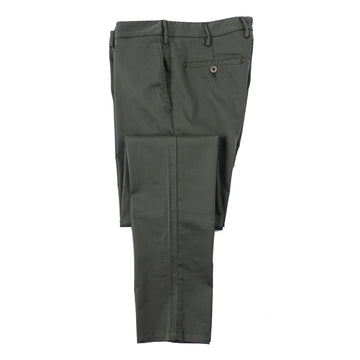 Isaia Slim-Fit Stretch Cotton Pants