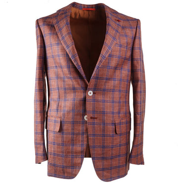 Isaia 'Summer Time' Wool-Silk-Linen Sport Coat