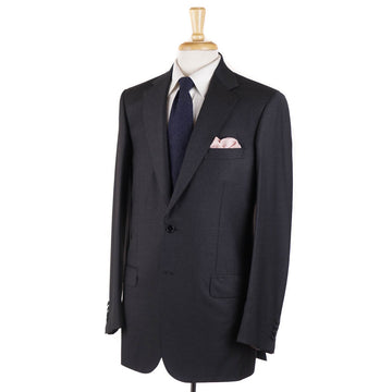 Brioni Solid Charcoal Gray Wool Suit - Top Shelf Apparel