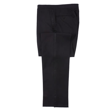 Isaia Wool and Mohair Formal Tuxedo Pants - Top Shelf Apparel