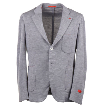 Isaia Soft Constructed Jersey Wool Sport Coat - Top Shelf Apparel