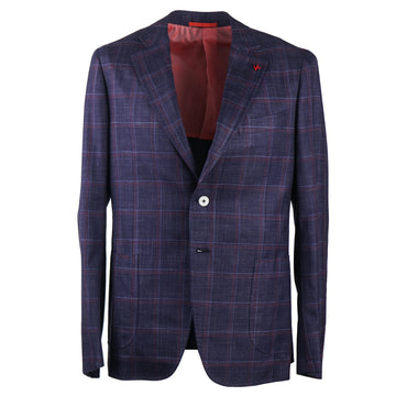 Isaia Slim-Fit Wool Silk and Linen Suit - Top Shelf Apparel