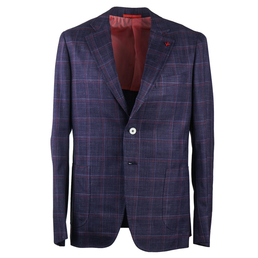 Isaia Slim-Fit Wool Silk and Linen Suit