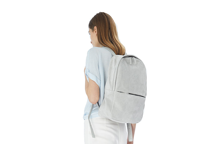 THE SUEDE BACKPACK