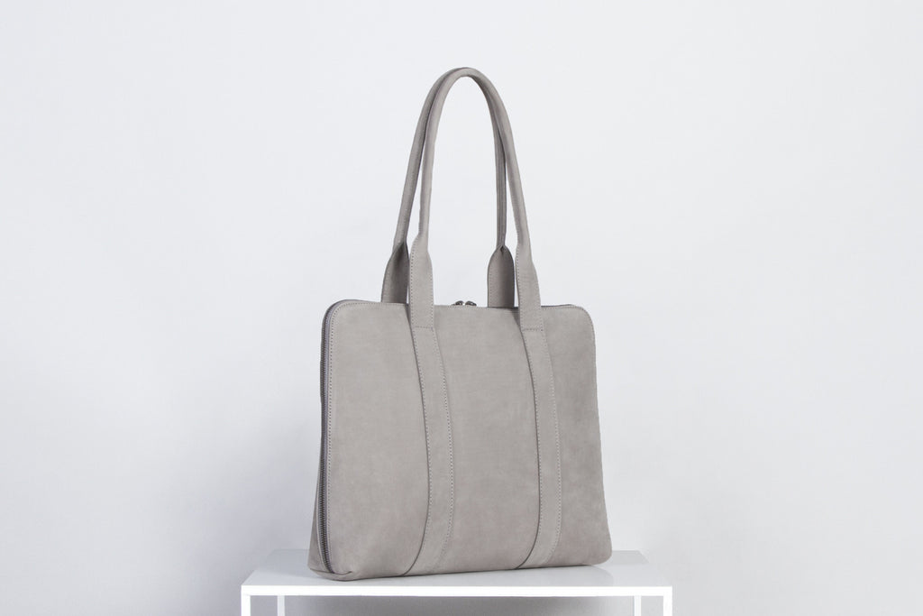 BAG NO.18 / GREY NUBUCK