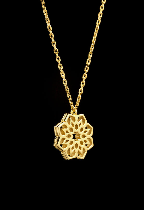 alhambra gold plated necklace