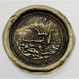 1 Troy Oz MK BarZ Viking War Ship Stamped Round .999FS