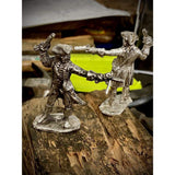 "@2.5 oz  BarZ ""Gun Toting Pirate"" 3D Sand Casted  .999 FS LTD - MK BARZ AND BULLION"