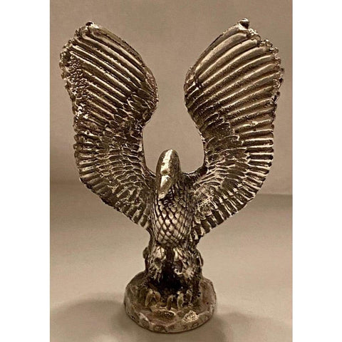 "@2.7 Troy Oz MK BarZ ""Egyptian Eagle"" .999 FS 3D Sand Cast Statue - MK BARZ AND BULLION"