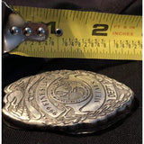 3 Troy Oz. MK BarZ Metals Dept. Badge Lasered .999 FS