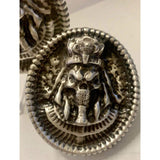 4 ozt. MK BarZ PHARAOH OF DEATH Sand Cast.999 FINE SILVER