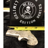 "5 Troy Oz MK BarZ ""Deadly Derringer"" LOGO Stamped Hand Gun .999 FS - MK BARZ AND BULLION"