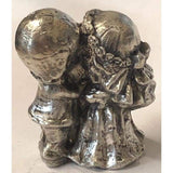 7.6 Troy Oz MK BarZ Happy Bride & Groom LTD .999 FS 3D Sand Cast Statue