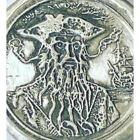 Blackbeard's revenge .999 FS 1 Troy ounce - MK BARZ AND BULLION