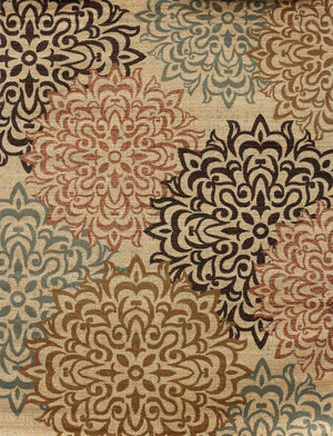 2044 Beige - Bargain Area Rugs  - 1