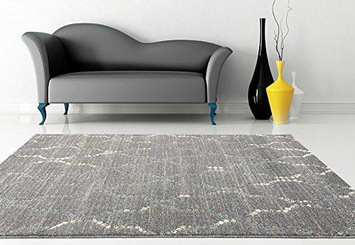 4157 Gray | Gray Distressed Moroccan Trellis Rugs