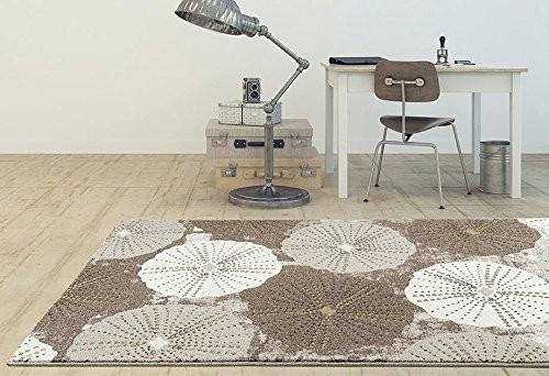 6508 Beige Contemporary Area Rugs