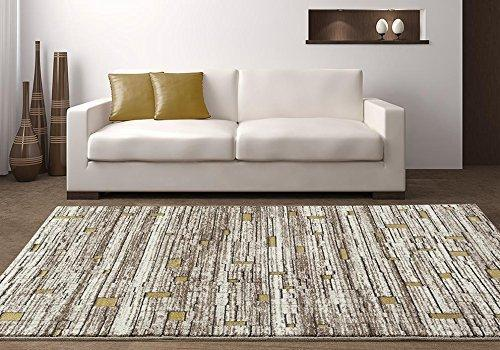 6706 Beige Contemporary Area Rugs