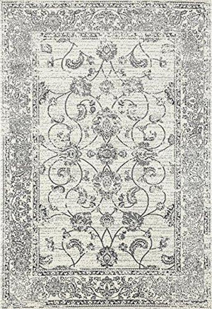 3545 Silver Distressed Oriental Area Rugs