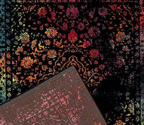 6945 Multi Distressed Oriental Area Rugs
