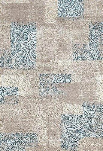 4860 Beige - Bargain Area Rugs  - 1